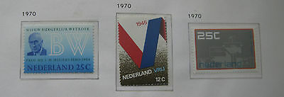 Netherlands 1970 Mint Stamps MNH inc Europa