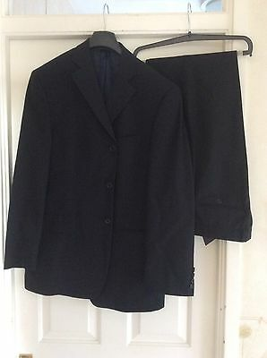 "Marks +Spencer Italian Coll Suit- Chest 40"" - W32 L31 ~~ Excellent Cond"