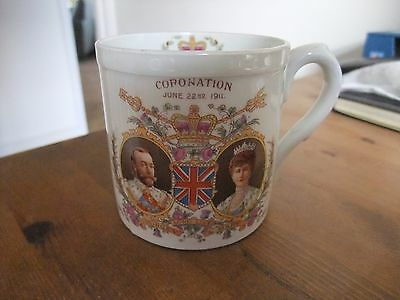 Beautiful Coronation Mug King George V 1911 By Late Foley Shelley