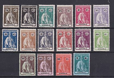 Portugal - Angola Ceres Nice Complete Set MH