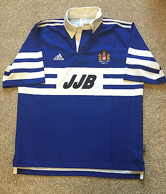 Gorgeous Rare Vintage Wigan Warriors Rugby League Shirt Adidas L Large