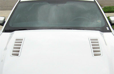 2013-2014 Mustang Fading Hood Vent Decals Inserts Gt Graphics Stickers Vinyl