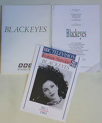 Gina Bellman - Blackeyes - original BBC Press pack 1989