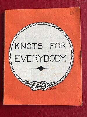 Girl Guides Association Knots For Everybody Pocket Leaflet Collectors It