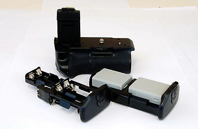 BG-E5 Battery Grip w/2 LP-E5 Replacement Battery for Canon EOS Rebel XS XSi T1i