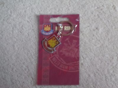 West Ham United Official Key Ring New/sealed
