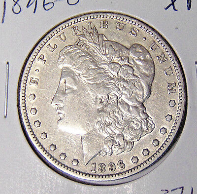1896-O Morgan Silver Dollar XF Details New Orleans Mint Coin (sd78)