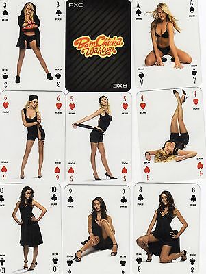 "RARE PACK ""Lovely Ladies - Bom Chicka WahWah"" Playing Cards"