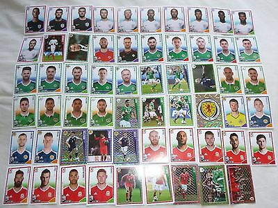 Panini Football 2017 59 Different Stickers