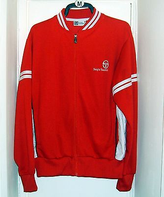 Sergio Tacchini mens vintage tracksuit top jacket size L (46 chest) 80's classic