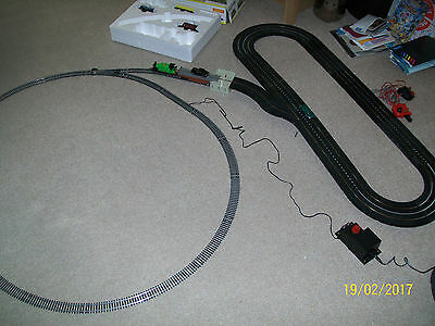 A Nice  Working Hornby Railway / Triang Minic Motorway Car Lay Out,