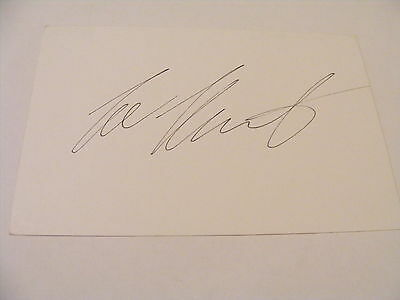 LEE HURST Signed Card Autograph Comedy Actor Quiz Pannelist Stand-up Comedian