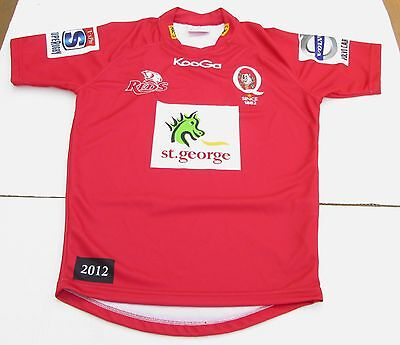 Kooga Queensland St. George Reds Rugby Jersey - Youth Medium