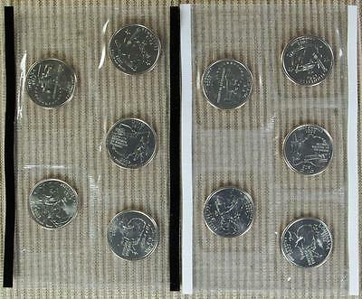 2002-P&D BU *In Mint Cello* Quarter Set - Best Value @ CherrypickerCoins