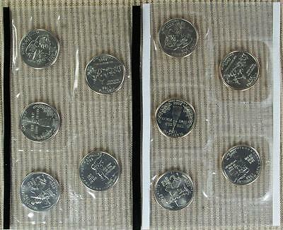 2000-P&D BU *In Mint Cello* Quarter Set - Best Value @ CherrypickerCoins
