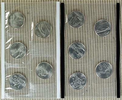 2005-P&D BU *In Mint Cello* Quarter Set - Best Value @ CherrypickerCoins