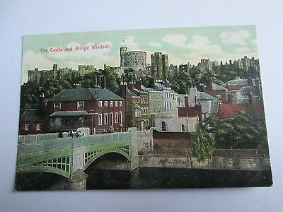 Postcard of The Castle and Bridge, Windsor (unposted)