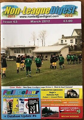 Non League Digest March 2012 Issue Number 63