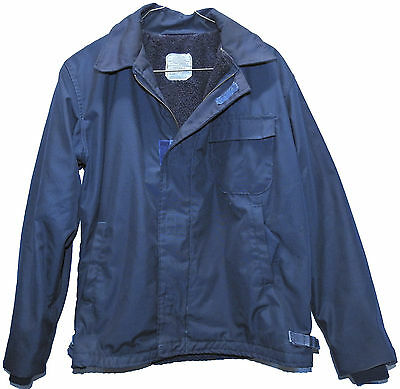 USN Deck Jacket Cold WX Flame Resistant Class 1 size LARGE circa 1990