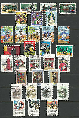 8 sets of Australian Stamps (137)