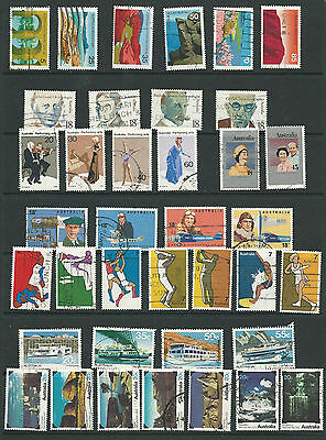 8 sets of Australian Stamps (123)
