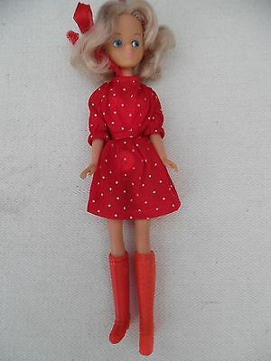 VINTAGE DAISY MARY QUANT DOLL 1970's WITH RARE DOTTY OUTFIT VGC