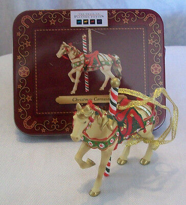 TRAIL OF PAINTED PONIES christmas Carousel  HORSE   4027272d  NEW ornament