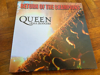 3 LP BOX NEW SEALED!!   Queen ‎– Queen On Fire (Live At The Bowl) Label: Parloph
