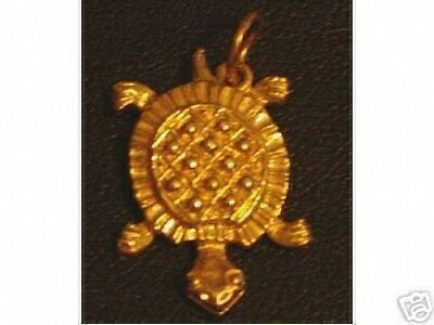 LOOK Silver Baby Turtle pendant Charm Celtic Jewelry