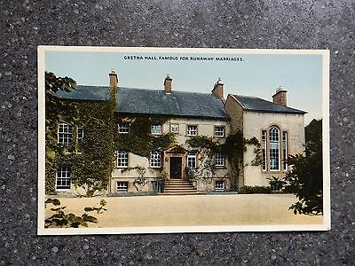 1950's postcard -Gretna Hall - Dumfries and Galloway - Scotland