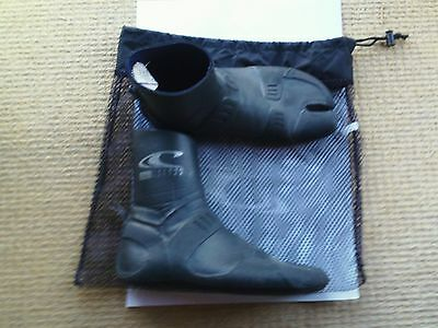 0'neill wetsuit boots size UK 9