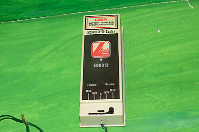 Lima Battery Powered Speed Controller 500012 for N / HO / OO gauge -