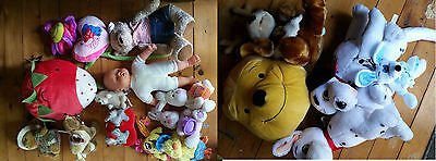 Lot de 17  PELUCHES