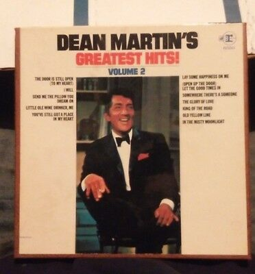 Dean Martins Greatest Hits 7.5 Ips 4Track Reel To Reel