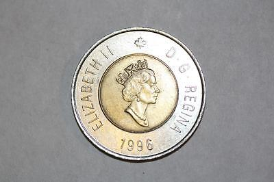 1996 Canada 2 Dollar Coin--Circulated