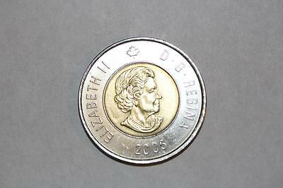 2005 Canada 2 Dollar Coin--Circulated