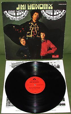 JIMI HENDRIX Are You Experienced ORIG HOLLAND STEREO EXCELLENT LP