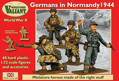 Valiant Miniatures 1/72 scale Germans in Normandy 1944