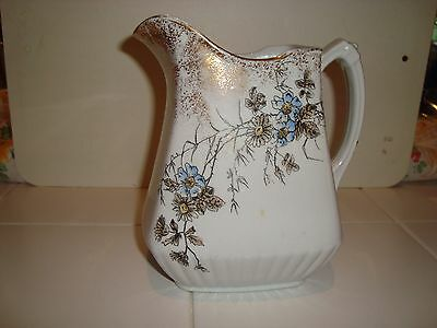 Antique Powell & Bishop Pitcher Ironstone England