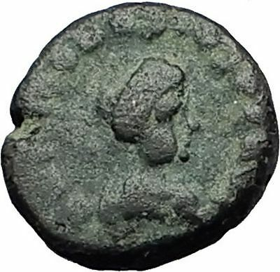 THEODOSIUS II 425AD Christian CROSS Genuine Authentic Ancient Roman Coin i59303