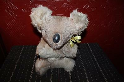 "Vintage NWT 12"" Hard Body Koala Bear BOOMA Australia Kangaroo Fur Collectible"