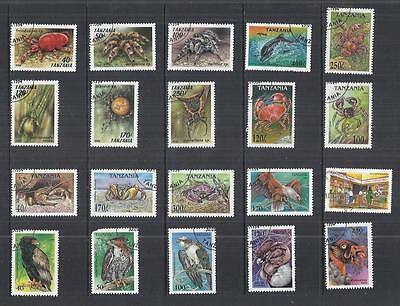 y838 Tanzania / A Small Collection Early & Modern  Used