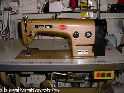 Leather Sewing Brother Flat Sewing  Machine Fully Serviced,Refurbished Clearance