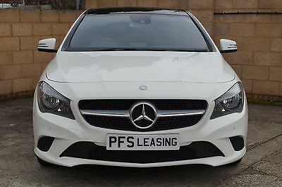 2013 MERCEDES-BENZ CLA180 SPORT 1 OWNER MBSH 6 SPEED SAT NAV  63 Reg