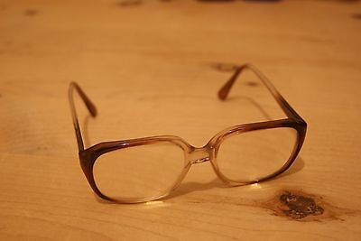 Vintage Retro Oversize Glasses Spectacles Two Tone Frames Stewart by Zodiac