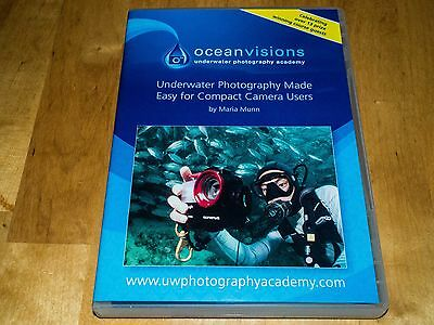 Underwater Photography Made Easy for Compact Camera Users DVD by Maria Munn