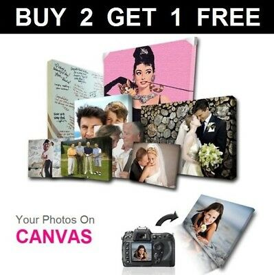 Your Photo Picture on Canvas Print A0 A1 A2 A3 A4 A5 Box Framed Ready to Hang《CP