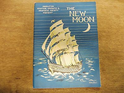 "Middleton Amateur Operatic  /Dramatic society "" The New Moon""  1958"