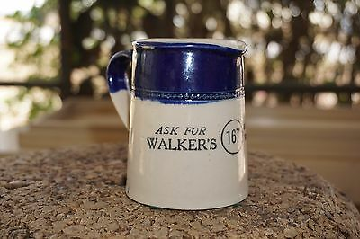 Old Walker's Scotch Whiskey 167 Small Pitcher