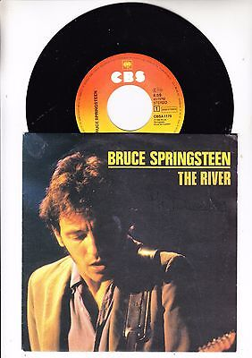 """Bruce Springsteen  Single 7""""  The River  Made In Holland 1980"""